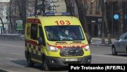 Автомобиль скорой помощи в Алматы.