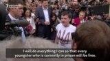 Savchenko Vows To Fight To Free Other Prisoners