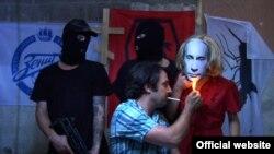 """Фрагмент видео группы """"Погребенные заживо"""""""