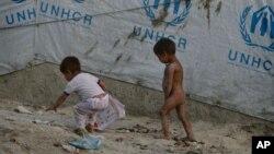 БҰҰ босқындар ісі жөніндегі агенттігінің Ауғанстандағы лагері. Көрнекі сурет.