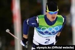 Сочиде алтын медаль алады деп болжанған қазақстандық шаңғышы Алексей Полторанин. Ванкувер олимпиадасы, 2010 жыл. (Көрнекі сурет)