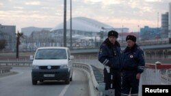 Олимпиадаялъул ахикье унеб нух цlунарал полициял, Сочи, 07Янв2014