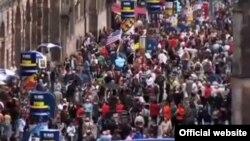 В августе Эдинбург традиционно становится фестивальным городом