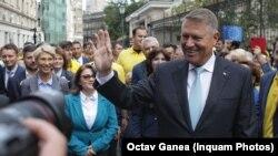 Iohannis a lansat atacuri politice la adresa PSD.