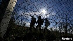 Migrantët në Hungari, foto arkiv