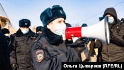 Протесты в Хабаровске (архивное фото)