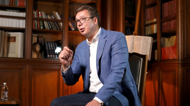 Vucic Says Deal With Kosovo Should Guarantee Serbia's Eventual EU Membership