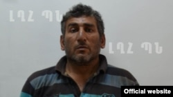 Nagorno Karabakh - Shahbaz Guliyev, an Azerbaijani man detained by Karabakh Armenian forces, Stepanakert, 11Jul,2014.