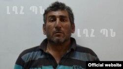 Нагорный Карабах - один из арестованных азербайджанцев Шахбаз Гулиев, Степанакерт, 11 июля 2014 г․