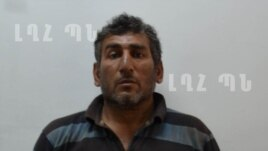 Nagorno Karabakh - A photo of Shahbaz Quliyev, an Azerbaijani who, according to Karabakh's Defense Ministry, was a member of a sabotage group, Stepanakert, 11Jul,2014