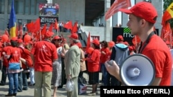 La un meeting al socialiștilor de 1 Mai