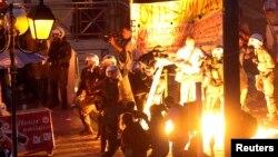 Під час сутичок в Афінах, 15 липня 2015 року