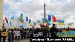 Євромайдан у Парижі, 9 лютого