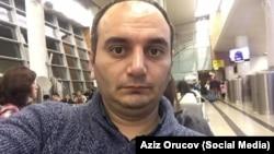 Həbsdə olan jurnalist Əziz Orucov