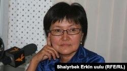 Бурул Макенбаева.