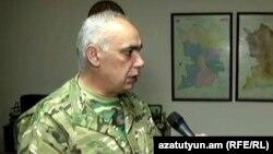 Вице-премьер Нагорног Карабаха Артур Агабекян дает интервью Радио Азатутюн, апрель 2016 г․
