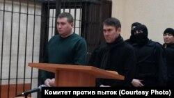Подсудимые Радим Хайруллин и Ильвир Сагитов. Фото предоставлено Комитетом против пыток
