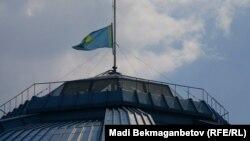 Знамето на Казахстан