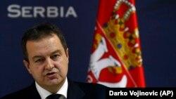 Архива: Министерот за надворешни работи на Србија Ивица Дачиќ.