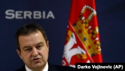 Serbian Foreign Minister Ivica Dacic (file photo)