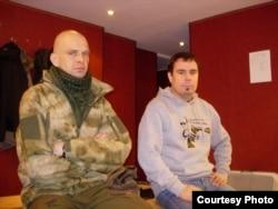 """Сергей """"Сильвер"""" Максимов и нацбол Андрей Дмитриев"""