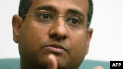 Maldivian Foreign Minister Ahmed Shaheed