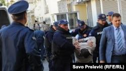 Privođenje osoba osumnjičenih za pokušaj državnog udara u Crnoj Gori, oktobar 2016.