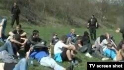 Policija i navijači nakon tuče