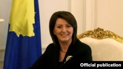 Претседателката на Косово, Атифете Јахјага