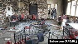 У курортному готелі «Спожмай» на березі озера Карга під Кабулом після нападу, 22 червня 2012 року