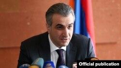 Министр сельского хозяйства Армении Игнатий Аракелян (архив)