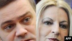 Borisllav Stefanoviq dhe Edita Tahiri