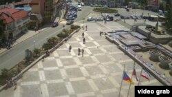 Центральная площадь Алушты, 3 мая 2017 года
