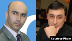 Namiq Hacıheydərli və Xəyal Rza (sağda)