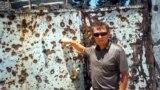 Угэтай жалезнай браме яналічыў 140 дзірак адаўтаматнага агню