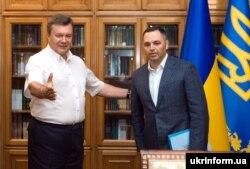Андрій Портнов та Віктор Янукович. Архівне фото