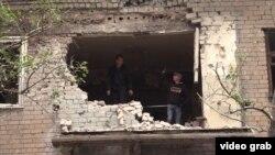 Разрушения в Донецке. Архивное фото