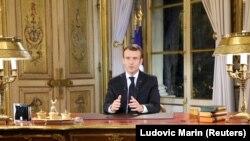 Emmanuel Macron, imagine de arhivă.