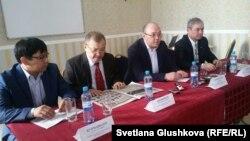 ЖСДП ұсынған кандидаттар. Астана, 23 ақпан 2016 жыл.