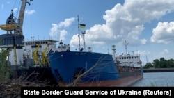 Російський танкер Nika Spirit (колишня назва Neyma), затриманий Службою безпеки України в порту Ізмаїл.