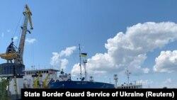 "Арестуваният руски танкер ""Ника спирит"" е закотвен в пристанището Измаил"