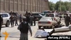 Після нападу в Кабулі, відеокадр 17 травня 2015 року