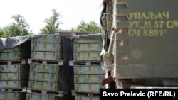 Podgorica, vojno skladište sa viškom oružja namjenjenom za unuštavanje