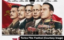 """""""Сталиндин өлүмү"""" (Death of Stalin) көркөм тасмасынын көрнөгү. 2017."""