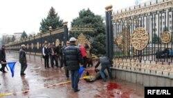 7-апрель: Бишкектеги кандуу калаба