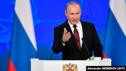 Live Blog Putin S State Of The Nation Address As It Happened