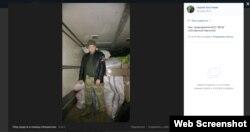 Координатор локальних груп «Бессмертного полка» по Україні позував із нашивкою угруповання «ЛНР»