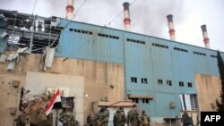 نیروگاه برق در حلب (عکس از آرشیو)