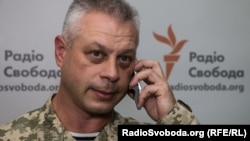 Речник Міністерства оборони України з питань АТО Андрій Лисенко
