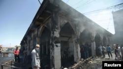 Šiitska džamija posle napada, 8. juli 2016.